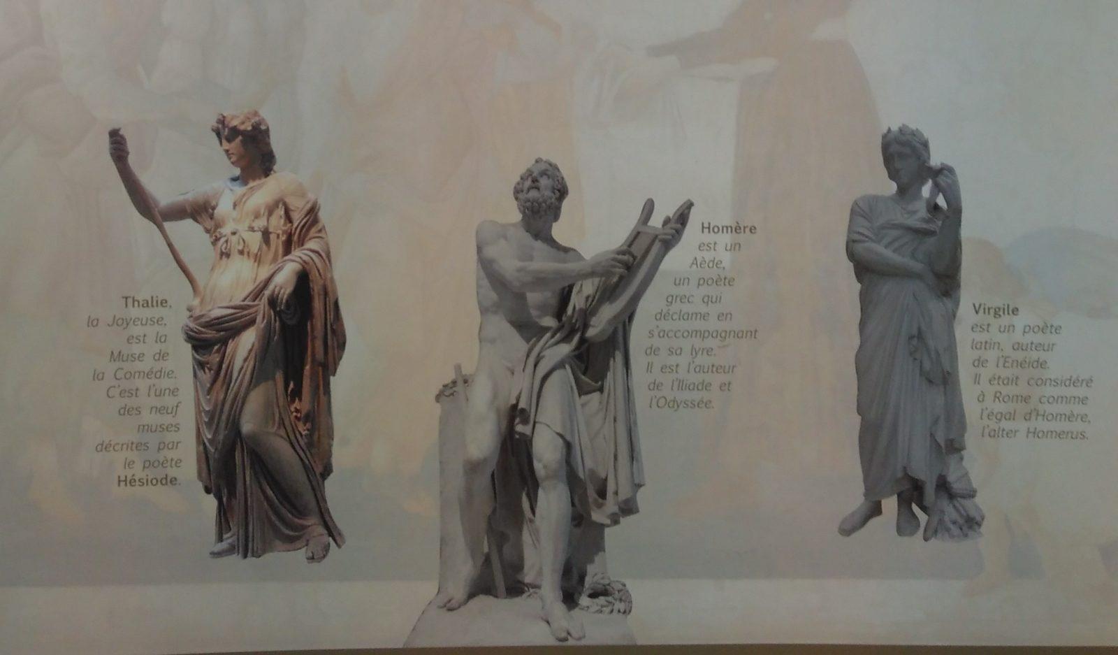 Exposition sur la mythologie gréco-romaine