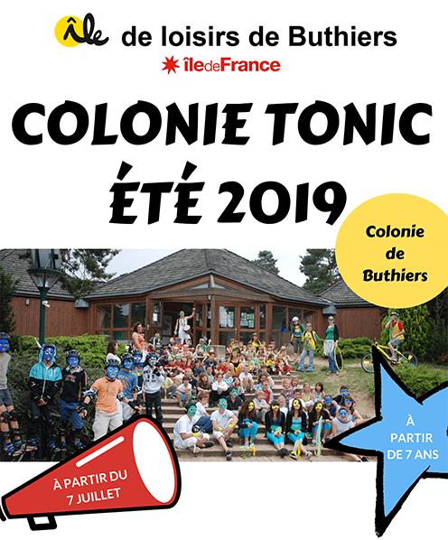 Colonie Tonic – Ile de loisirs de Buthiers