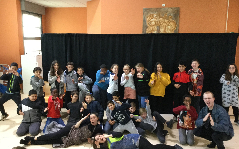 Théâtre anglais 6è : nos élèves montent sur scène !