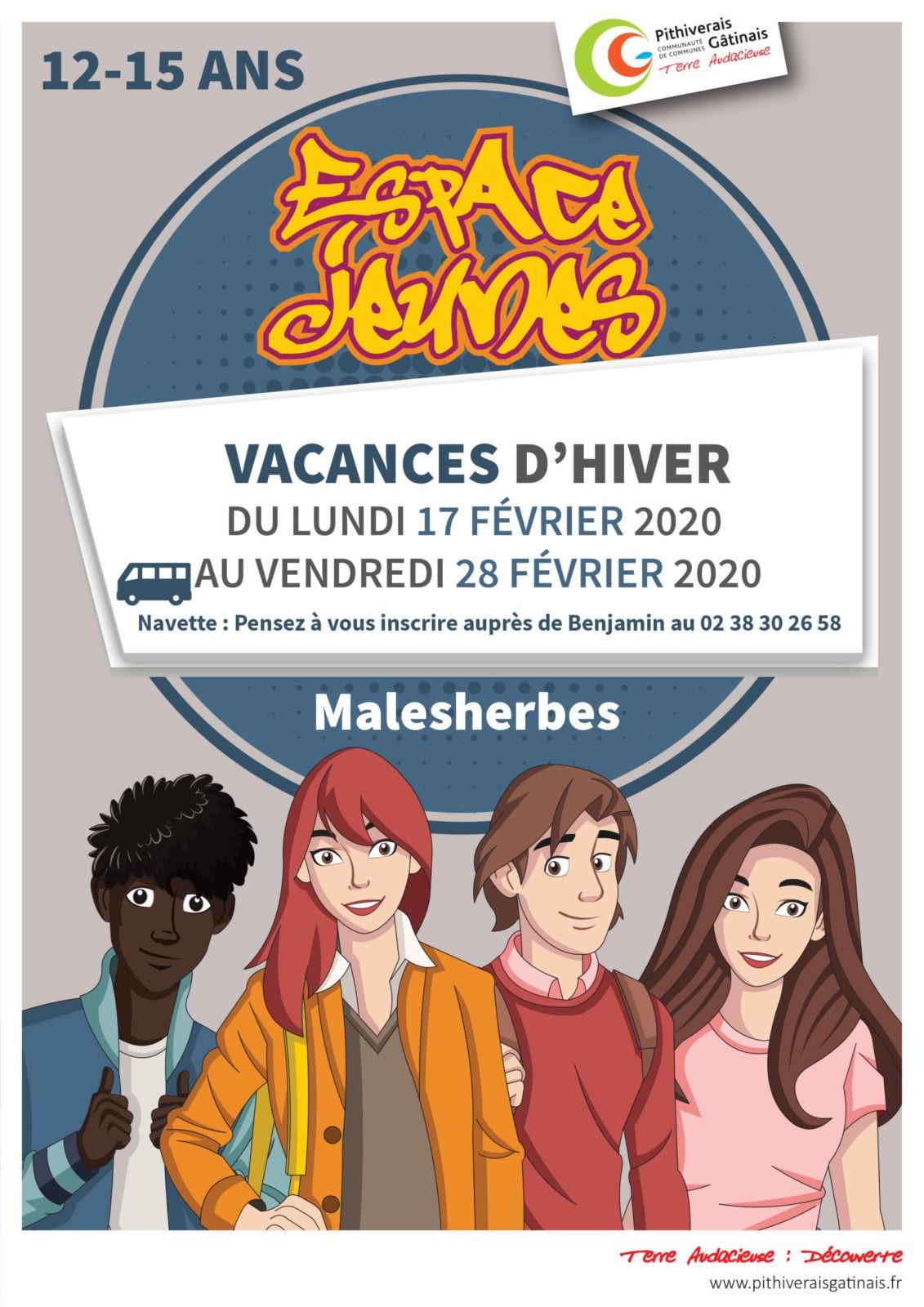Vacances de février à l'Espace Jeune