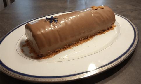 Le délice à la mousse au chocolat