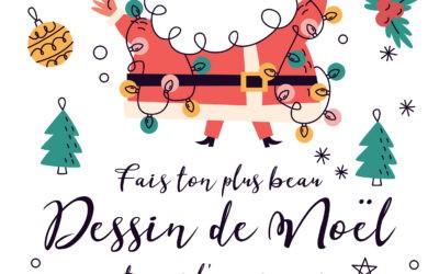 Concours de dessin – Fais ton plus beau dessin de Noël